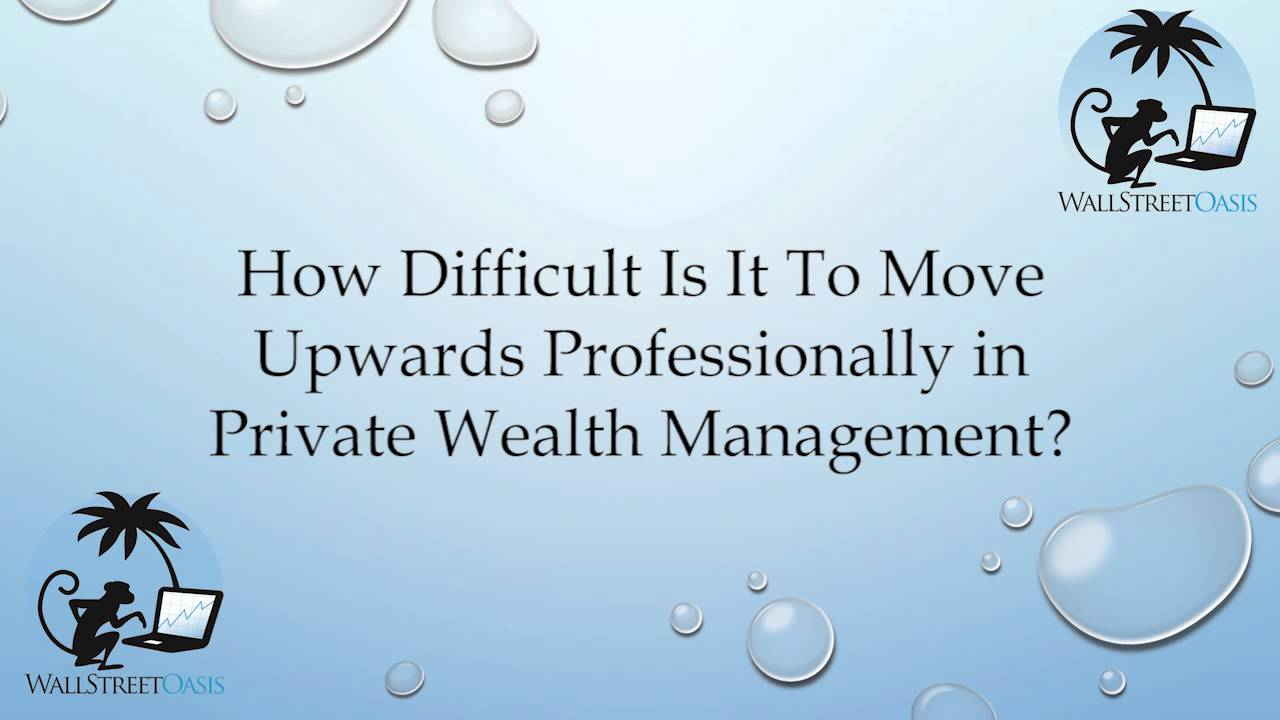 resume Wso Resume Review moving upwards professionally in private wealth management youtube management