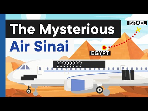 The One Route Ghost Airline Between Egypt \u0026 Israel