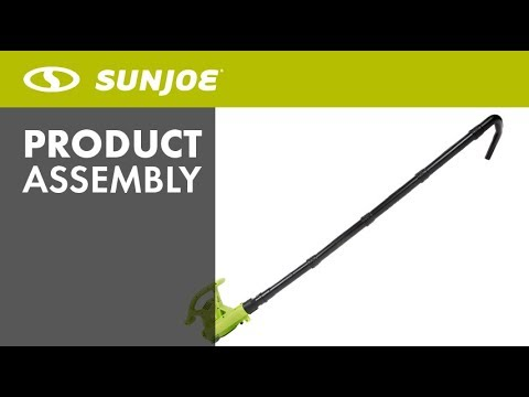 SBJ6-GA - Sun Joe Gutter Cleaning Attachment for SBJ601/603/605E and iONBV Leaf Blowers - Assembly