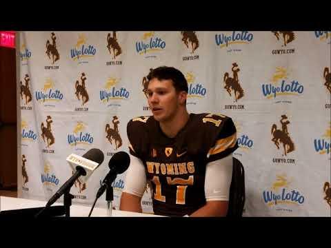 Wyoming QB Josh Allen Talks OT Win Over Hawaii