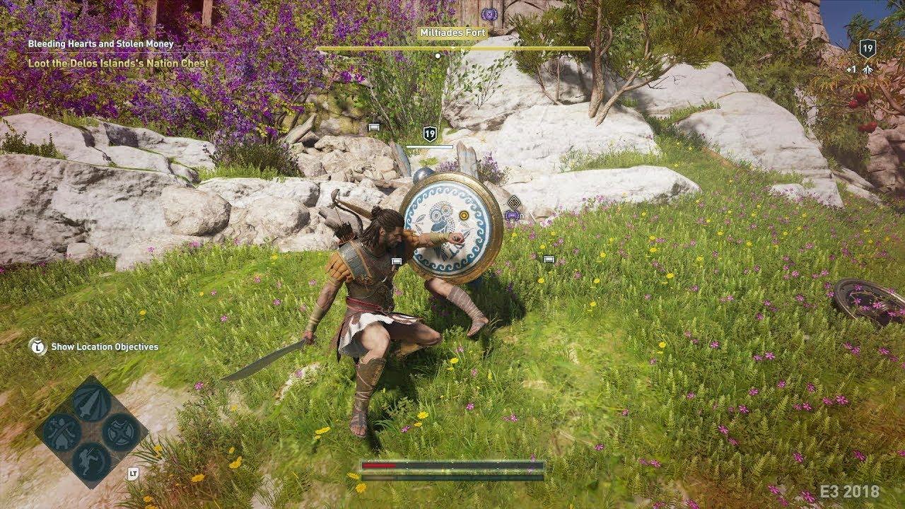 Assassin S Creed Odyssey Gameplay Kassandra Inventory Skill Tree