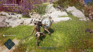 Assassin's Creed Odyssey Gameplay Cassandra & Inventory Skill Tree Customization