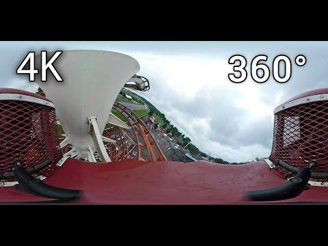 Wild & Wooly Toboggan 360° On-ride 4K POV Little Amerricka