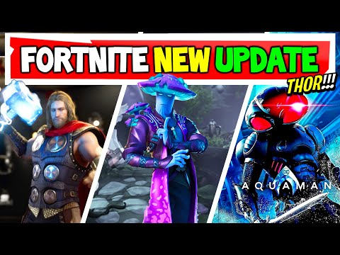 Fortnite THOR Is COMING??!! | Upcoming Skins!
