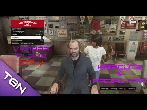 GTA 5 - Haircut and facial hair