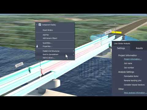Bridge Design in InfraWorks and Civil 3D 2021