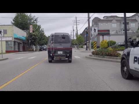 Housing In New Westminster British Columbia Canada - Driving Around Residential Area