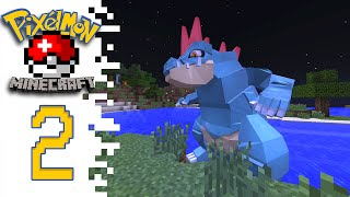 Minecraft Pixelmon (Public Server) - EP02 - Catching Them All!
