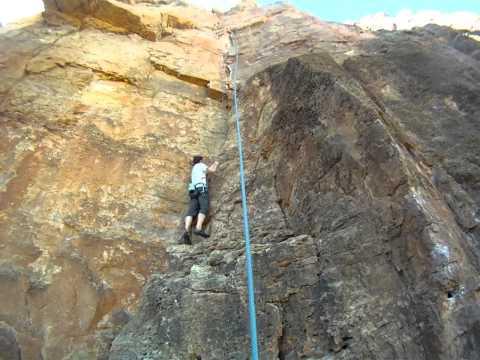 Rock Climbing at Cactus Cliff, The New Gym - Shelf Road - Cañon City, Colorado (Day 4)