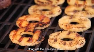 Stuffed Teriyaki Pineapple Burgers