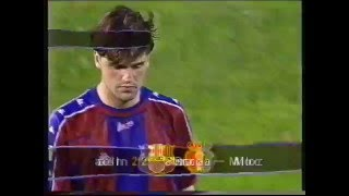 Spanish Cup Final 98 (English & full penalties) Barca V Mallorca