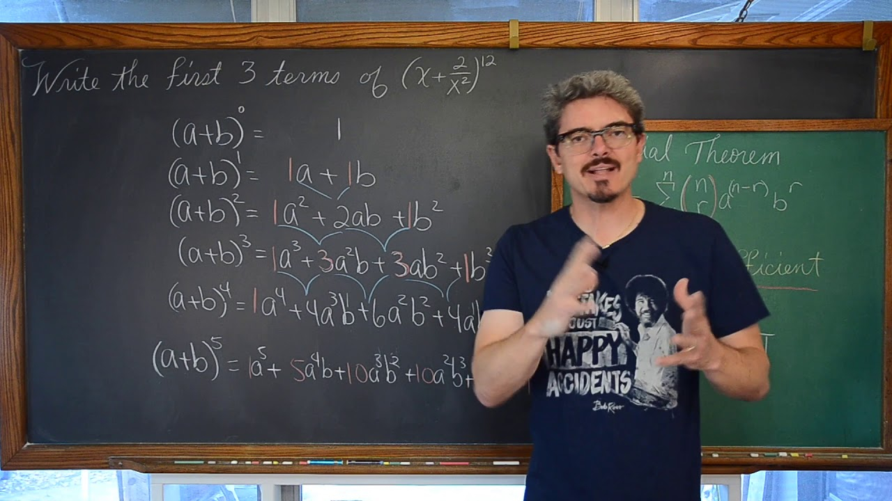 Binomial Theorem Introduced & 3 Examples