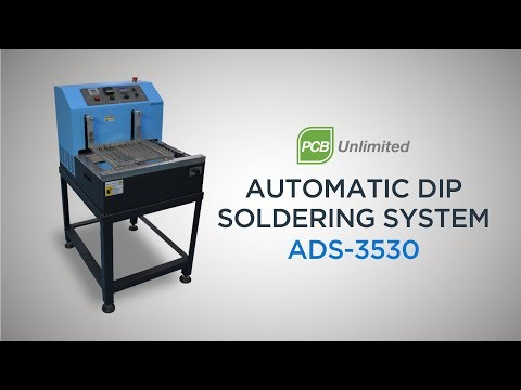 ADS-3530C - Auto Dip Soldering Machine