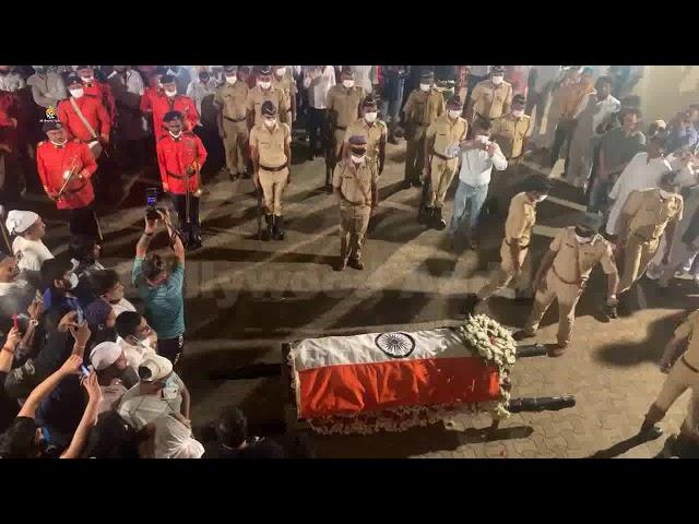 Gulam Mustafa Sahab Funeral