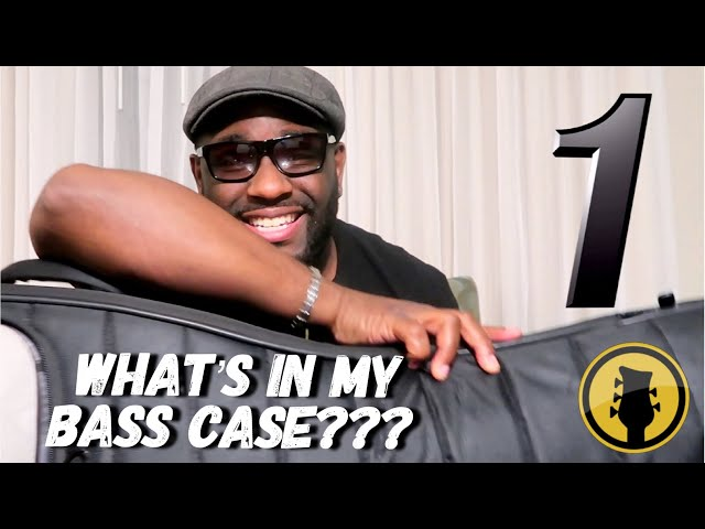 WHATS IN MY BASS CASE??? Touring Bassist Essentials ~ Daric Bennetts Bass Lessons