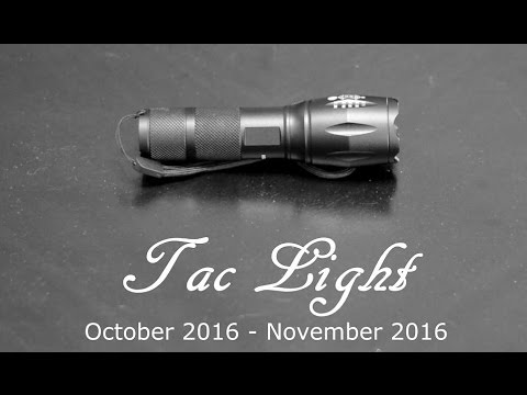 Bell & Howell Tac Light Update: RIP Tac Light!