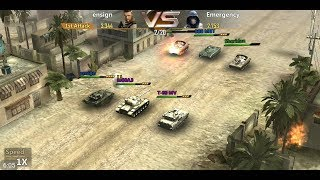 Panzer Storm: Modern Warfare (by iGamewar Interactive Limited) - game for android - gameplay.