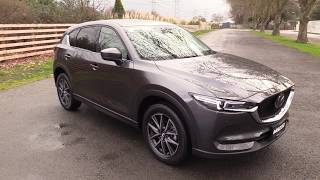 New Mazda CX-5 Limited- Machine Grey with Pure White Leather