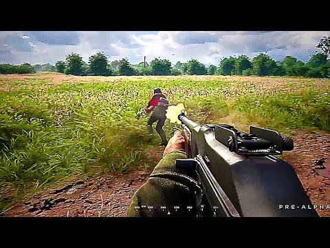 HELL LET LOOSE Gameplay Demo (World War 2 Game 2018)