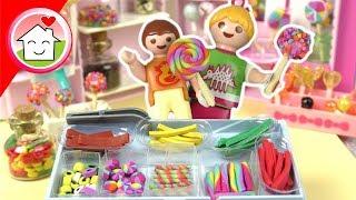 Playmobil Film deutsch - Anna und Lena im Süssigkeitenladen - Familie Hauser Kinder Spielzeug Film