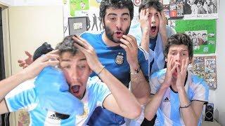 Argentina vs Perú | Eliminatorias Rusia 2018 | Reacciones amigos
