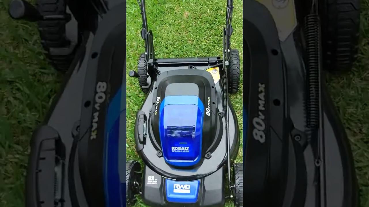 Kobalt 80v Mower Beeping