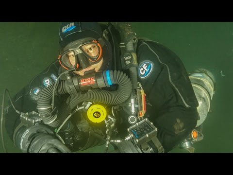 Underwater exploration, diving Piquette mine 04/09/2017 By Omer Labrecque