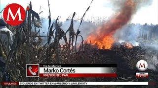 Marko Cortés confirma muerte de Martha Erika y Moreno Valle