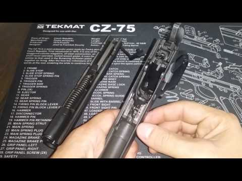 CZ 97 B Review and Field Strip
