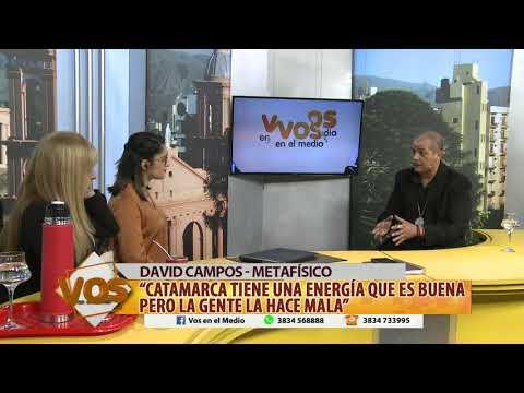 DAVID CAMPOS - COMO DETECTAR SI HAY ENERGÍAS NEGATIVAS EN TU HOGAR - 28-09-17