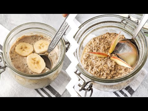6 Protein OVERNIGHT OATS for Weight Loss