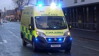 Fiat Ducato - North West Ambulance Service Responding Lights & Siren