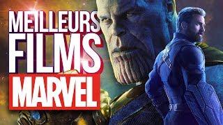 TOP 5 FILMS MARVEL (MCU)
