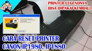 Cara Reset Canon IP1980, Canon…