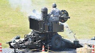 航空自衛隊 大滝根山分屯基地開庁祭 創設62周年 VADS 20mm対空機関砲(改) 2018年