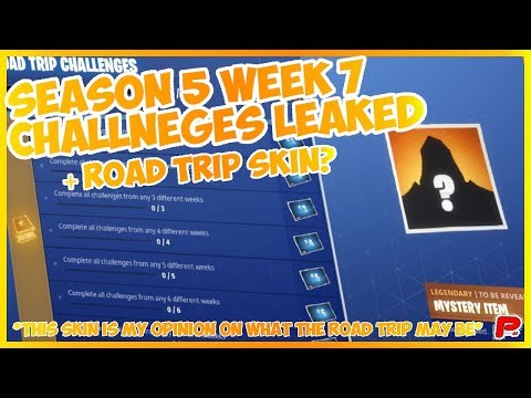 Week 7 Challenges Leaked | Road Trip Skin Opinion? (Season 5) !!NOT ACTUALLY REVEALED!!