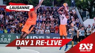 Day 1 + Dunk Contest Qualifier - Re-Live - Lausanne - 2015 FIBA 3x3 World Tour