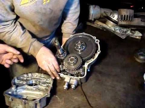 polaris atv x transmission repair