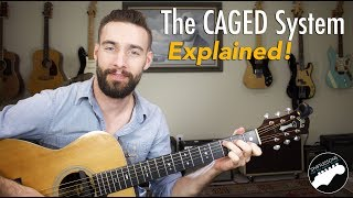 The CAGED System Explained | Music Theory Guitar Lesson