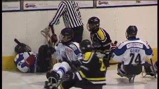 Rvačka / Sledge hockey fight !