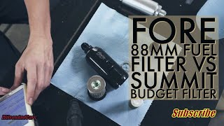 E85 fuel filter, Fore 88mm vs Summit race fuel system