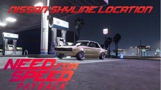Nissan Skyline Location NFS Payback
