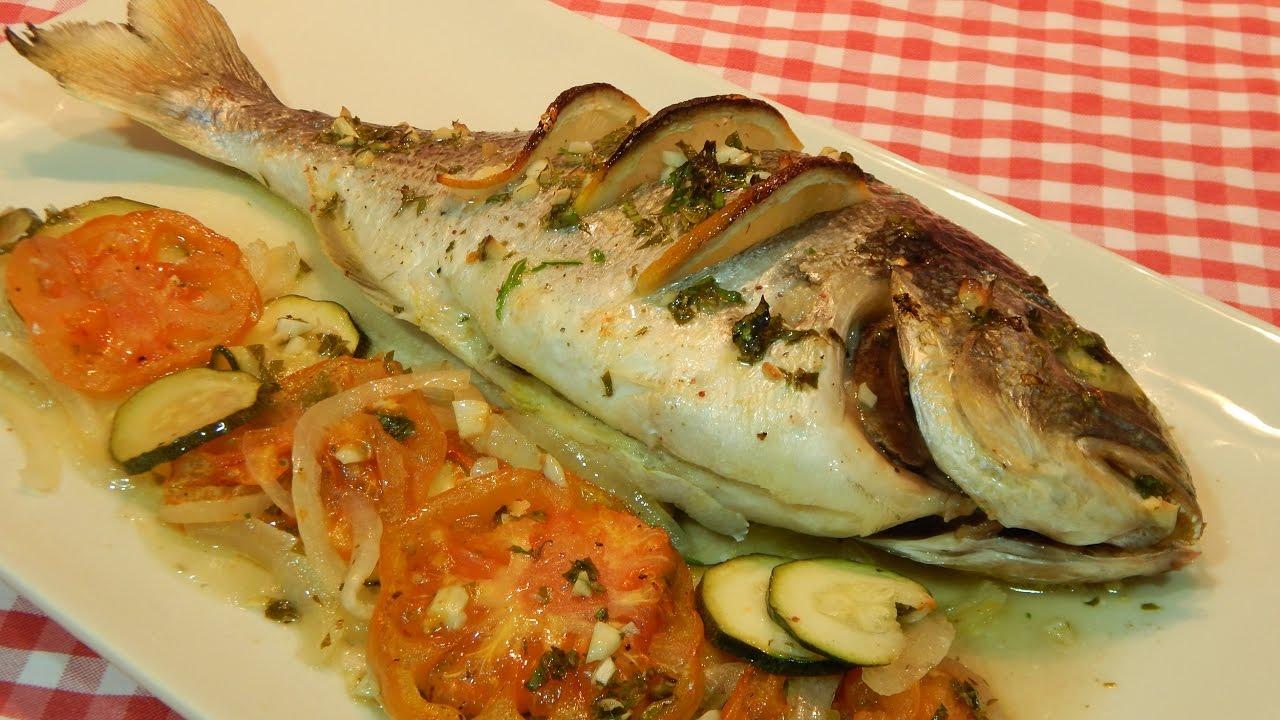 Receta f cil y r pida de pescado al horno dorada al horno for Platos faciles de cocinar