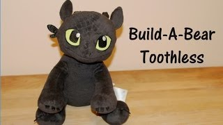 Toothless - Build-A-Bear Dragon Plush from How To How Train Your Dragon 2