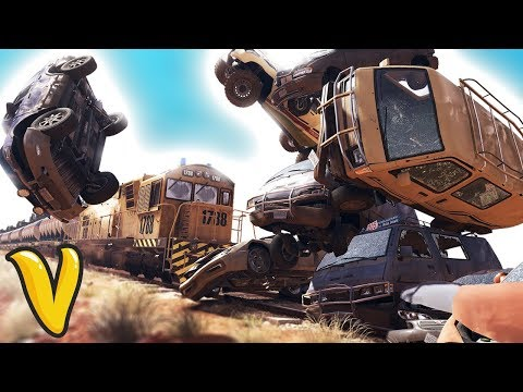 WILDLANDS STOPPING THE TRAIN!? Ghost Recon Wildlands Funny Moments & Fails!
