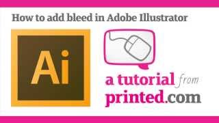 Adobe Illustrator Tutorial - Adding Bleed
