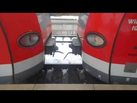S-Bahn ET423 Ankuppeln in Renningen