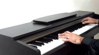 Stevie Wonder - I Just Called To Say I Love You - Piano cover