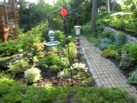 Am nagement paysager landscaping youtube for Amenagement jardin paysager