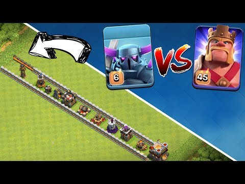 MAXED PEKKA vs MAXED KING! || CLASH OF CLANS || Let's Play CoC [Deutsch German]